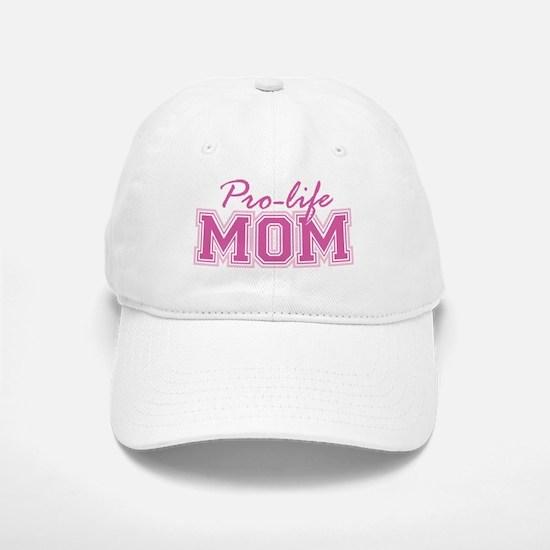Pro-life Mom Baseball Baseball Cap