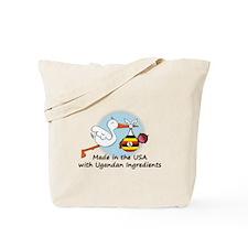 Stork Baby Uganda USA Tote Bag