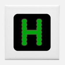 Hercules Logo Tile Coaster