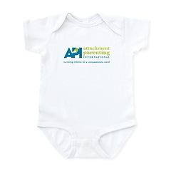 Infant Creeper with API Logo (white)