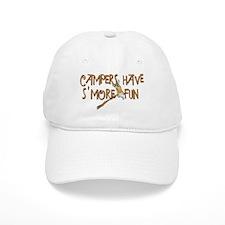 Campers Have S'More Fun! Baseball Cap