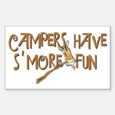 Campers Have S'More Fun! Decal