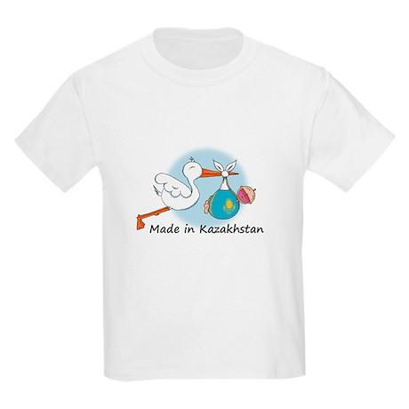 Stork Baby Kazakhstan Kids Light T-Shirt