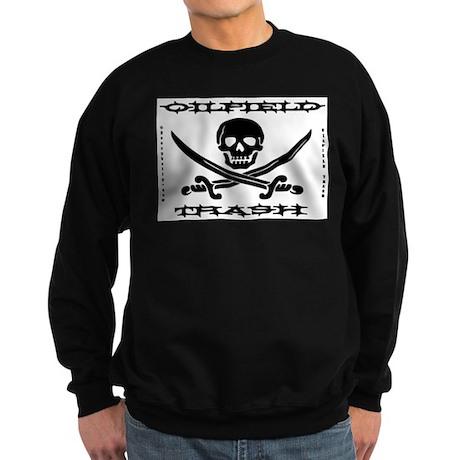 Oil Field Trash,Skull,Bones Sweatshirt (dark)