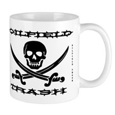 Oil Field Trash,Skull,Bones Mug