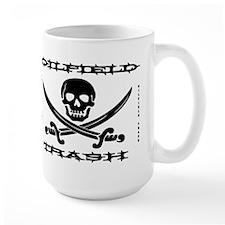 Oil Field Trash,Skull,Bones Mug