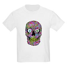 PSYCHEDELIK SKULL T-Shirt