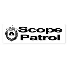 Scope Patrol Bumper Sticker