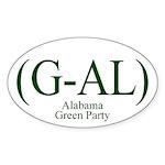 (G-AL) Alabama Green Party bumper sticker