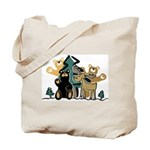 Woodland Firends Tote Bag