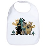 Woodland Firends Bib