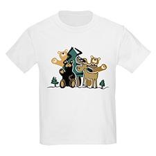 Woodland Firends Kids T-Shirt