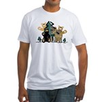 Woodland Firends Fitted T-Shirt