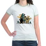 Woodland Firends Jr. Ringer T-Shirt