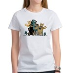 Woodland Firends Women's T-Shirt