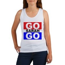 Go Sarah Go Women's Tank Top