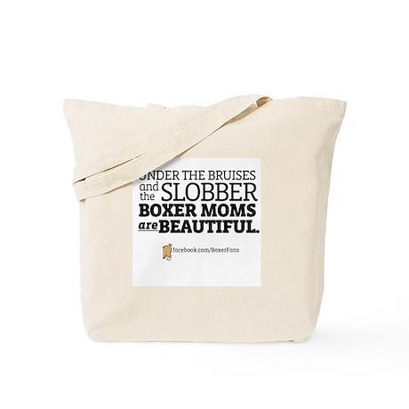 """""""Boxer Moms are Beautiful"""" Tote Bag"""