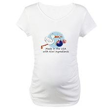 Stork Baby New Zealand USA Shirt