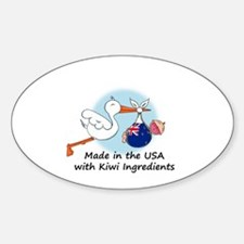 Stork Baby New Zealand USA Decal