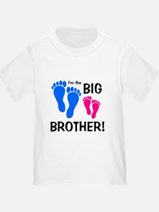 Toddler big brother t shirts shirts tees custom for Big brother shirts for toddlers carters