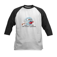 Stork Baby North Korea USA Tee