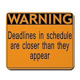 Deadline Mouse Pads