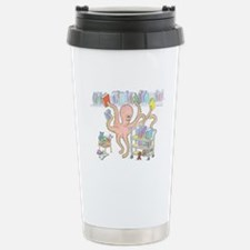 Octopus Stainless Steel Travel Mug