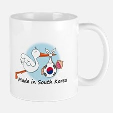 Stork Baby South Korea Mug