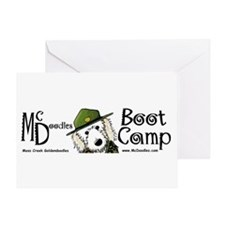 McDoodles Boot Camp Hz Greeting Card
