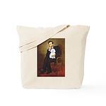 Lincoln / Maltgese (B) Tote Bag