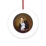 Lincoln / Maltgese (B) Ornament (Round)