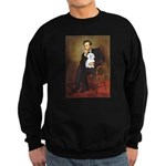 Lincoln / Maltgese (B) Sweatshirt (dark)