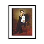 Lincoln / Maltgese (B) Framed Panel Print