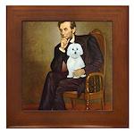 Lincoln / Maltgese (B) Framed Tile