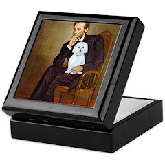 Lincoln / Maltgese (B) Keepsake Box