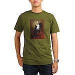 Lincoln / Maltgese (B) Organic Men's T-Shirt (dark