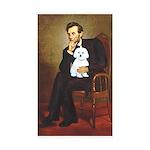 Lincoln / Maltgese (B) Sticker (Rectangle 10 pk)