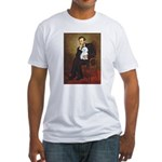 Lincoln / Maltgese (B) Fitted T-Shirt
