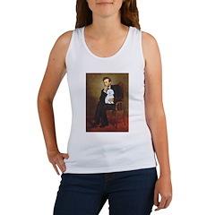 Lincoln / Maltgese (B) Women's Tank Top
