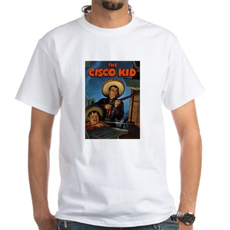 $19.99 Classic Cisco Kid & Pancho White T