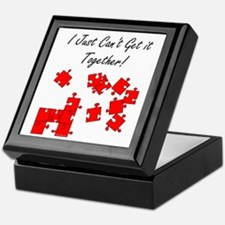 Can't Get It Together Keepsake Box