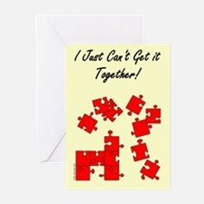 Can't Get It Together Greeting Cards (Pk of 10