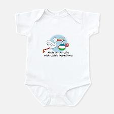 Stork Baby Uzbekistan USA Infant Bodysuit
