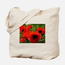 Unique Poppies Tote Bag