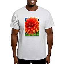 Orange Dalia T-Shirt