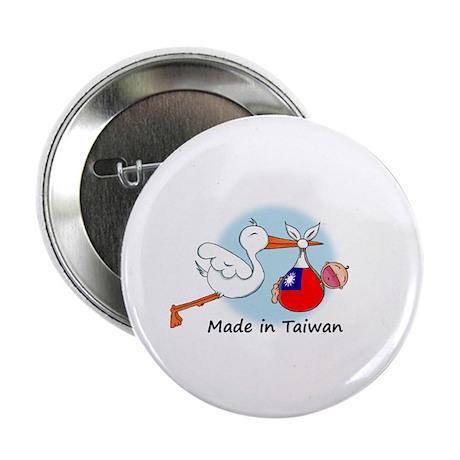 """Stork Baby Taiwan 2.25"""" Button"""
