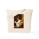 Reading / Maltese Tote Bag