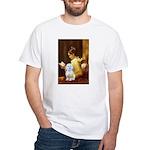 Reading / Maltese White T-Shirt
