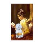 Reading / Maltese Sticker (Rectangle 10 pk)