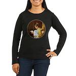 Reading / Maltese Women's Long Sleeve Dark T-Shirt